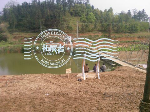 西安某中学引进拓展者训练器械建立基地